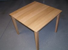 Small Oak Table, built to fit a small apartment space